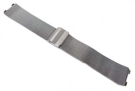 Marken Uhrenarmband Edelstahl Milanaise Band Silberfarben 20mm für Skagen Slimline 233XL 22921