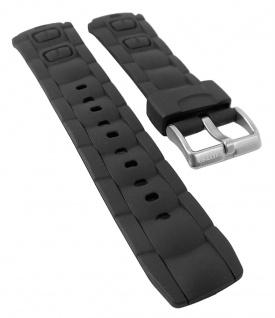 Calypso Watches | Uhrenarmband Kunststoff Band schwarz für alle Modelle K5512