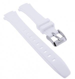 Calypso Ersatzband aus Kunststoff in weiß mit Schließe silberfarben Spezial Anstoß K5756/1 K5756/3