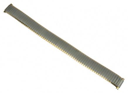 Flexband Zugband Ersatzband Edelstahl Band bicolor Teleskopanstoss 12mm - 14mm 27545