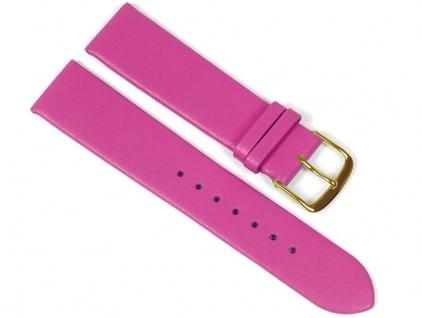 Berlin Uhrenarmband Kalbsleder Band Pink 23260G