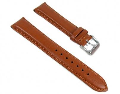 Casio Uhrenarmband Leder Band 20mm Braun BEM-116L-1 BEM-116L