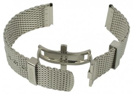 Citizen Uhrenarmband Ersatzband Edelstahl Milanaise für Eco-Drive Herren Uhr AW1360 CA4210 - Vorschau 1