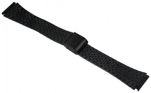 Timex Classic Digital Uhrenarmband Edelstahl Band schwarz TW2P48400