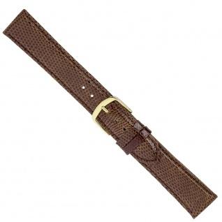 Uhrenarmband Ersatzband Leder Band Braun 26567G