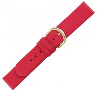 Minott Ersatzband rot glatt flach Dornschließe gleichlaufend