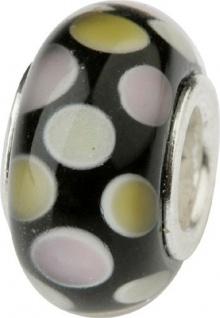 Charlot Borgen Marken Damen Bead Beads Drops Kristallglas Silberkern GPS-20Gold