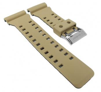 Casio Armband G-Shock Ersatzband für GA-100 Replacement Band beige/schwarz
