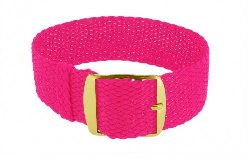 Minott Durchzugsband Ersatzband neon pink Band geflochten Perlonband 35849