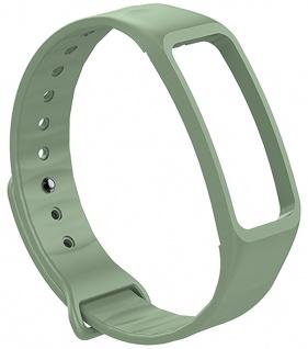 Atlanta Uhrenarmband Fitnessband grün Ersatzband Silikon weiches Smartwatchband