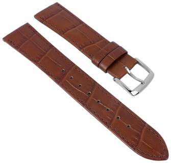 Citizen Elegance | Uhrenarmband Leder 19mm braun Ton-in-Ton Naht für AR1130-13A