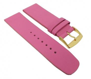 Graf Manufaktur Spree Damen Uhrenarmband Leder Band Pink 27093G