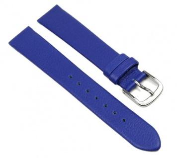 Uhrenarmband Lorica Band Wasserfest Blau 16mm