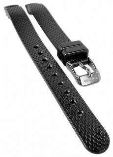 Calypso Uhrenarmband Kunststoff schwarz Band Dornschließe K5736 K5736/3