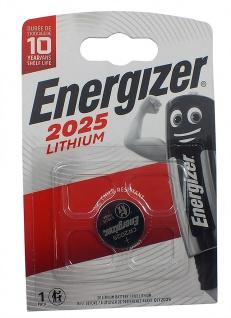 1 x Energizer CR2025 Batterie Knopfzelle Lithium 3 Volts für Armbanduhren
