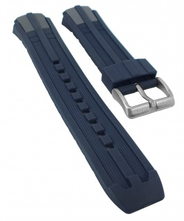 Calypso Watches | Uhrenarmband Kunststoff Band dunkelblau/grau für K5513/4