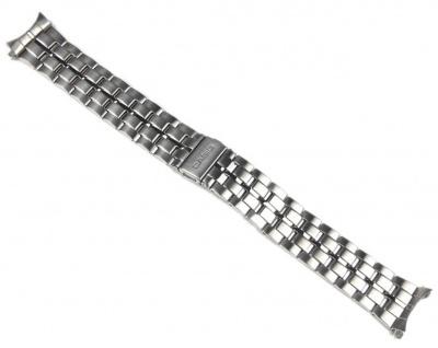 Casio Uhrenarmband Edelstahl Band 20mm Silberfarben für BEM-503D BEM-503LE