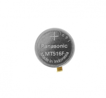Citizen Akku Panansonic MT516F Knopfzelle Batterie 295-7630 mit Fähnchen 34298