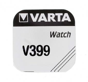 Varta Knopfzellen SR927W Batterie 399V Silberoxid 1, 55V für Armbanduhren