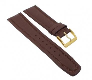 Graf Manufaktur Montana Uhrenarmband Walknappa Band XL Länge Braun 26343G