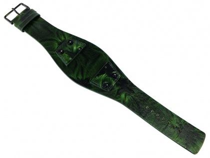Bruno Banani Perseus Unterlageband Leder grün BR20850 BR20849 BR20848 PS4 907 307