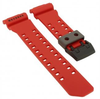 Casio G-Shock Protection Ersatzband rot Uhrenarmband Resin GA-400-4B > GA-400