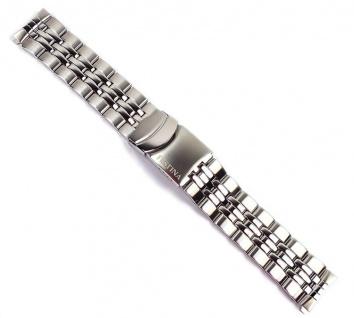 Festina Ersatzband Edelstahl Band silbern 20mm F16271/1 F16271/ F16278/