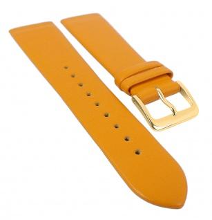Minott Uhrenarmband Leder zum verschrauben 29702