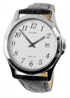 Herrenuhr analog klassisch Citizen Armbanduhr BI0740