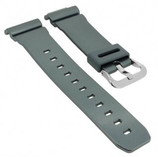 Casio G- Shock Ersatzband grau Resin Band Schließe silberfarben GB-6900AA-2 GB-6900