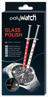 polyWatch®   Glass Polish   Uhrenglas-Politur für Glas / auch für Handydisplay - Made in Germany 32341