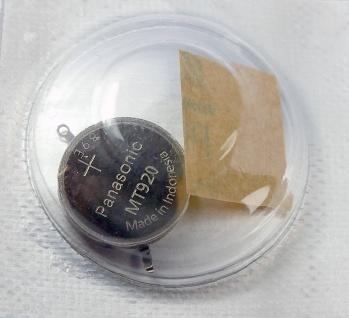 Panasonic Knopfzelle mit Fähnchen Akku / Batterie Kondensator Seiko 3023-24L