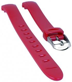 Calypso Watches Uhrenarmband Ersatzband Kunststoff Band pink schimmernd für Modell K5677/4