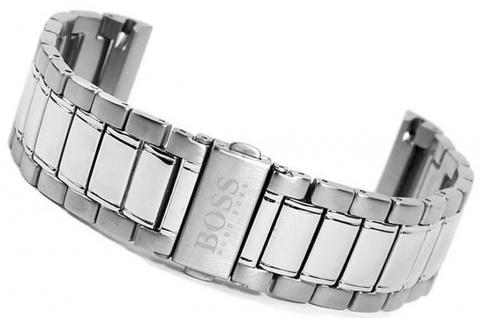 Hugo Boss Uhrenarmband Edelstahl Band 21mm 1512243-MB HB.49.1.14.2080
