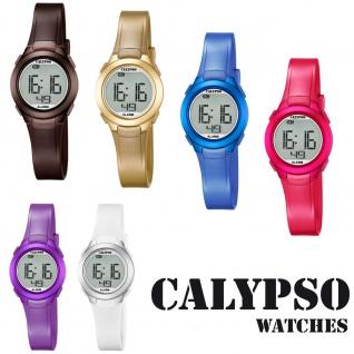 Calypso Damenarmbanduhr Quarzuhr Kunststoffuhr mit Polyurethanband Alarm-Chronograph digital alle Modelle K5677