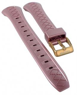 Calypso Ersatzband Kunststoff rosa Schließe rosegoldfarben Spezial Anstoß K5668/4 K5668