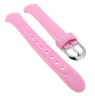 Calypso Uhrenarmband rosa Band aus Kunststoff mit Dornschließe K5750/4
