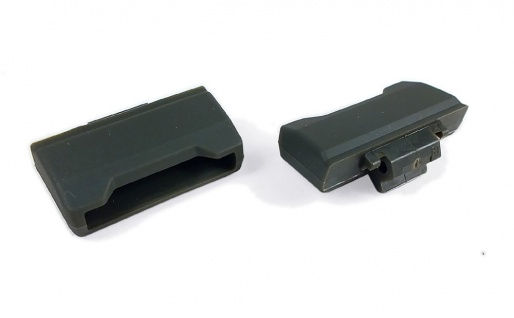 Casio Ersatzteile Endstück Kappe Cover End Piece Kunststoff Graugrün für GLS-100