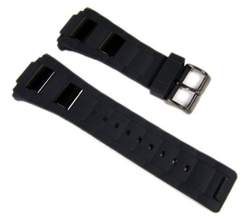 Calypso Uhrenarmband 25mm Kunststoff Band schwarz K5534/2 K5533