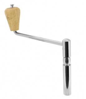 Minott Ersatzschlüssel 5mm Kurbel -/ Großuhrschlüsselvierkant Stahl silbern
