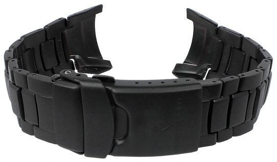 Casio Armband | Uhrenarmband Titan IP Schwarz für Pro Trek PRW-1100YTJ