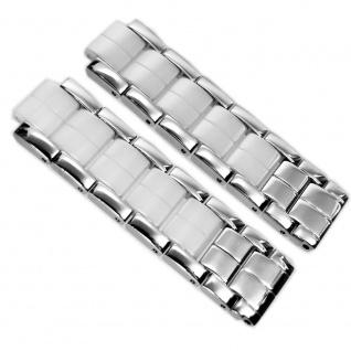 Festina Uhrenarmband 12mm Edelstahl Band Silberfarben für alle F16531