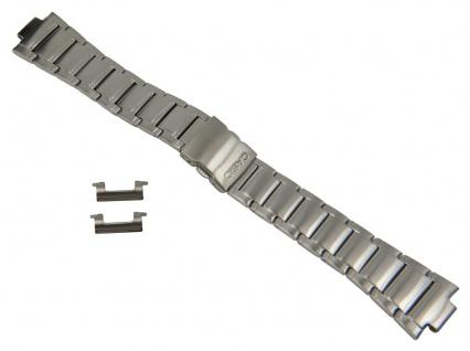 Casio Edifice Ersatzband Edelstahl Band Silberfarben für EFA-120D 10220660