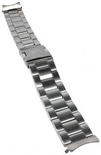 Timex Expedition Uhrenarmband Ersatzband Edelstahl silbern 20mm für T49924