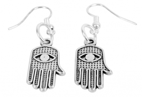 Minott Damen Ohrringe Metall Hand-Anhänger MT-03574