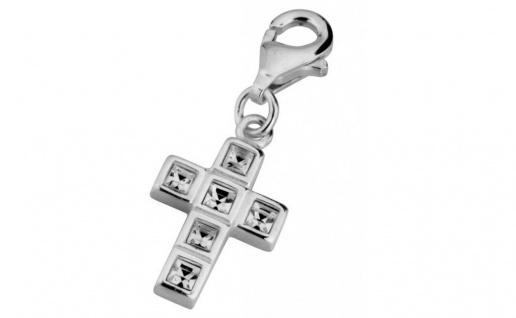 Minott Charms Anhänger Keruz mit Kristallen 925/-Silber CMM042