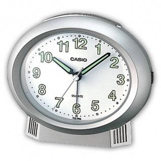 Casio Analog Wecker Beep Alarm mit Light Silberfarben TQ-266-8EF