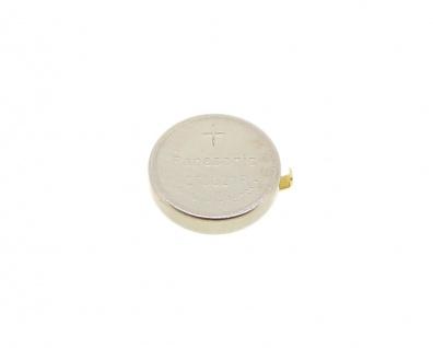 Panasonic Knopfzelle Akku / Batterie CTL621F Lithium Ionen (LiIon) mit Fähnchen 33132