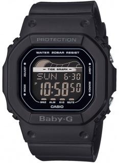 Casio Baby-G Armbanduhr mit Ebbe-Flut-Indikator Damen digital BLX-560-1ER