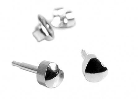 STUDEX Erstohrstecker Ohrschmuck Herz Ohrringe aus Edelstahl 100 % Steril 23808
